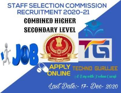 SSC-CHSL-10+2-Recruitment-2020-21-apply-Online