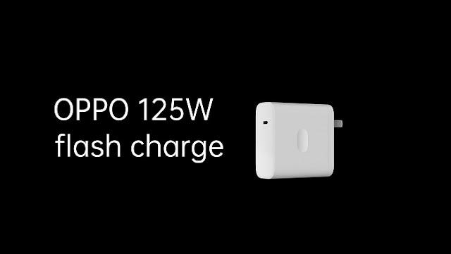 OPPO Perkenalkan 125W Flash Charger, 0-100% Cuma 20 menit