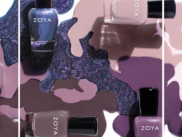Zoya Transitional: Naturel 4 Swatches
