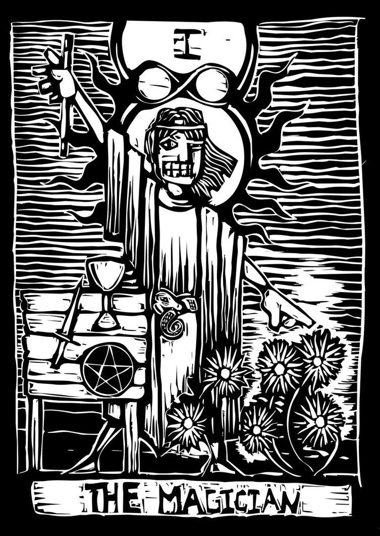 Magician From The Crystal Visions Tarot: Les Secrets Du Tarot: LE BATELEUR (Arcane 1