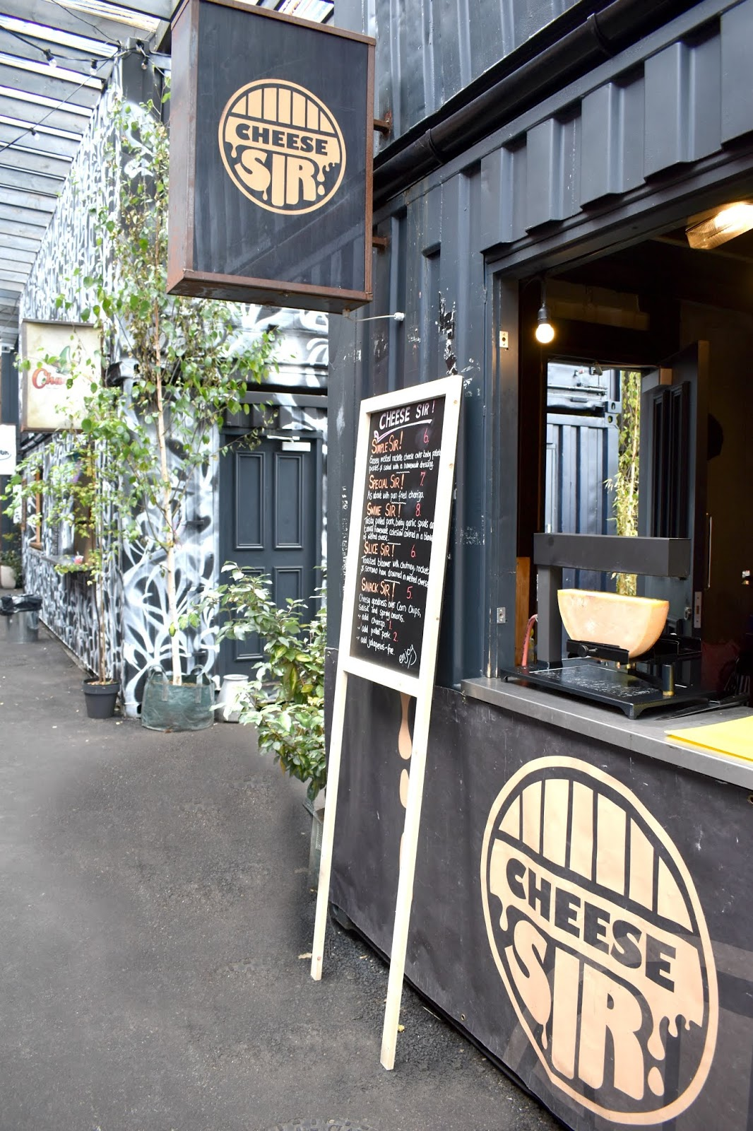 The Best Street Food in Newcastle! HWKRMRKT, By the River Brew Co  - Cheese Sir