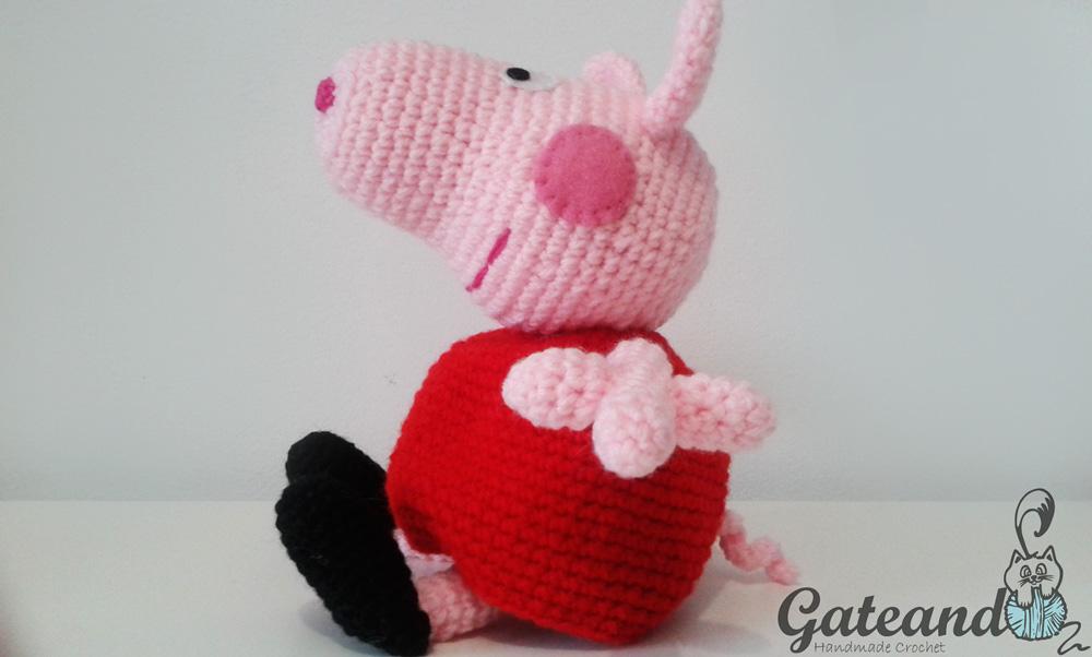 Patrón Amigurumi PEPPA PIG crochet | Peppa pig doll, Crochet pig ... | 602x1000