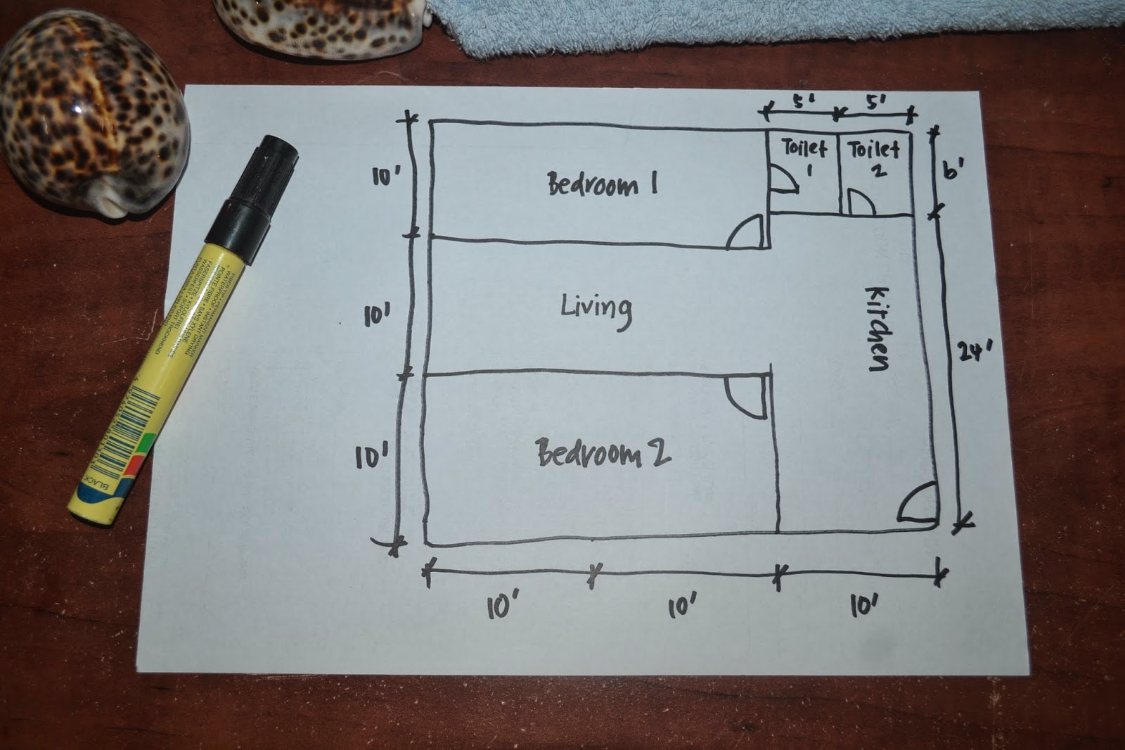 Ruang Tamu Dan Dapur Makan Keluasan 30 Jurnal Kehin Saya Rumah Impian Kabin 9