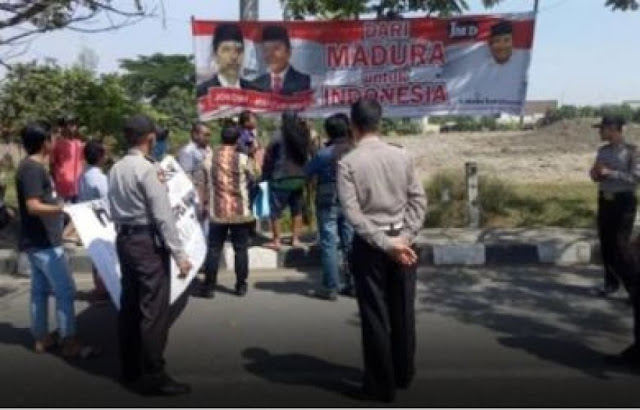 """Heboh Gerakan """"Haram Pilih Jokowi di Madura, Ini yang Bikin Warga Sakit Hati"""