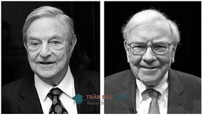 Những điểm chung trong phong cách đầu tư của Buffett và Soros