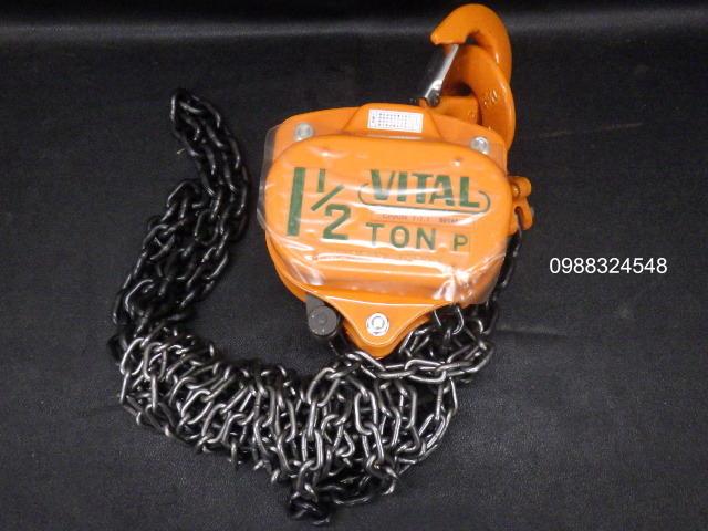 Pa lăng kéo tay Vital VP5-15 1500kg