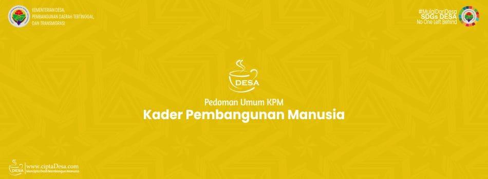Pedoman Umum KPM