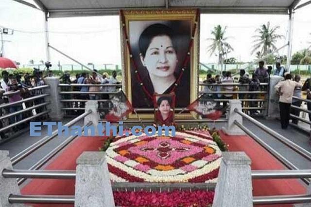 ஜெயலலிதா நினைவிடம் கட்ட எதிர்ப்பு - ஐகோர்ட்டு நோட்டீஸ்   Jayalalitha memorial to protest - court notice !