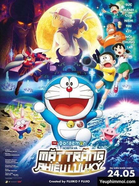 Đô Rê Mon : Nobita Và Chuyến Thám Hiểm Mặt Trăng - Nobita's Chronicle Of The Moon Exploration