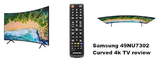 Samsung 49NU7302 curved 4k TV review