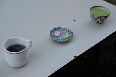 SOFUBO DENSETSU CAFE in四賀倉庫 珈琲と干菓子と抹茶