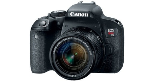 Kamera Untuk Video Youtube Canon EOS Rebel T7i