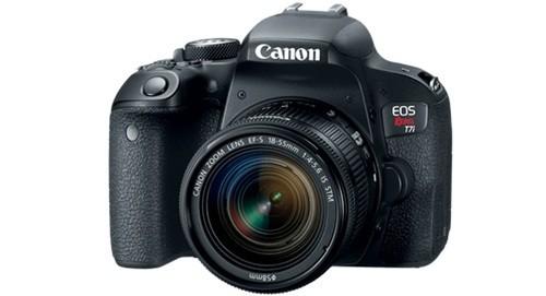 Kamera Untuk Video Youtube Canon EOS Rebel T7i