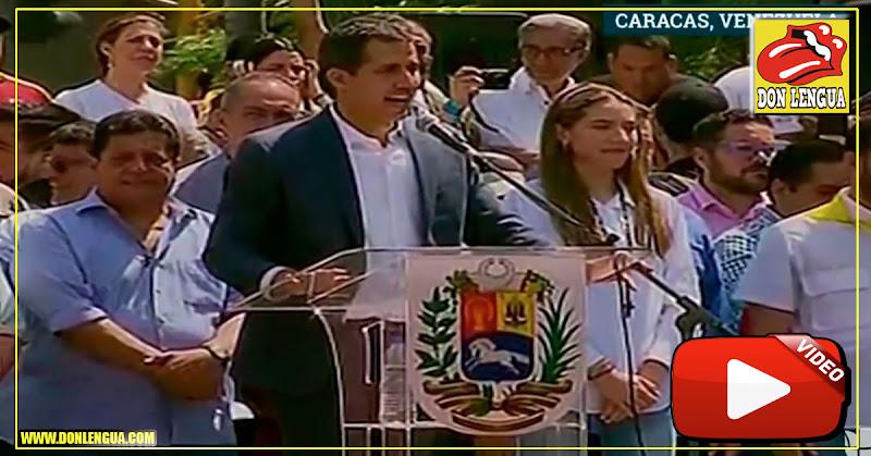 Juan Guaidó desbordó las Mercedes y anunció llegada de Ayuda Humanitaria