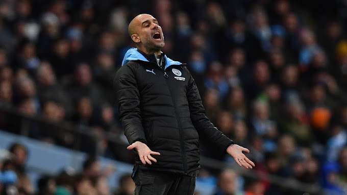 Even Pep can't hide his frustration with Man City defence
