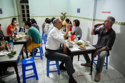 "Kebab rice noodle President Obama complimented ""excellent"" 2"