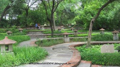 garden of five senses in delhi