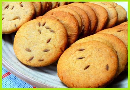 Jeera & Atta Biscuits