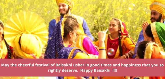 Happy Baisakhi 2021 wishes