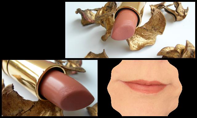 Nabla-rossetto Diva Crime-bye bye birdie-swatch-gold-lipstick