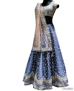 Special Silk Embroidery Lehengas