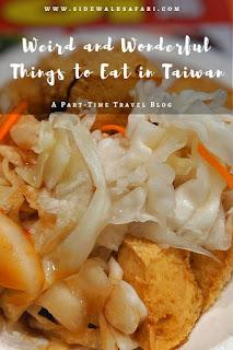 Things to eat in Taiwan: Stinky Tofu