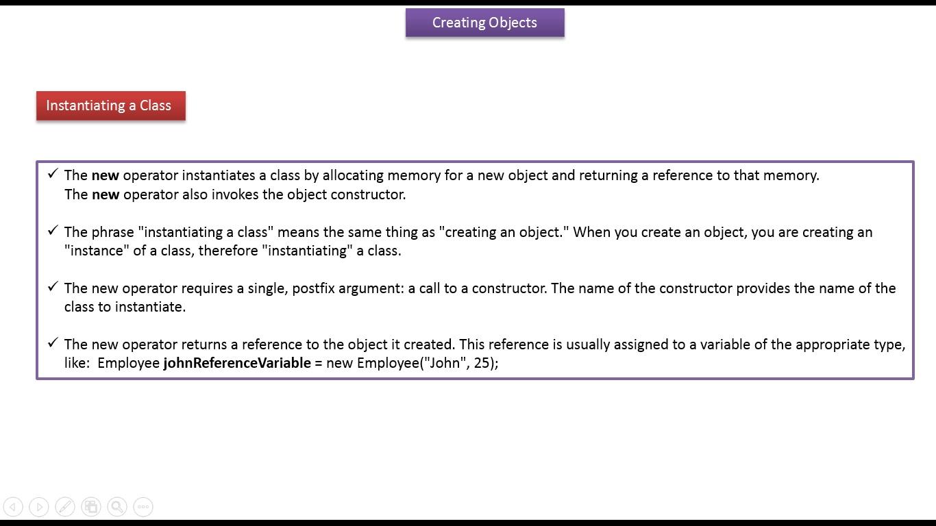 Java ee java tutorial java creating objects java tutorial java creating objects baditri Image collections