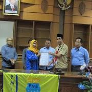 PC. PMII Kutim Sampaikan Aspirasi ke DPRD Kutim