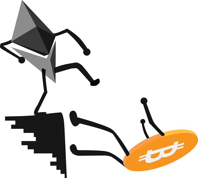 The Flippening sắp trở thành sự thật - Ethereum đánh bại Bitcoin