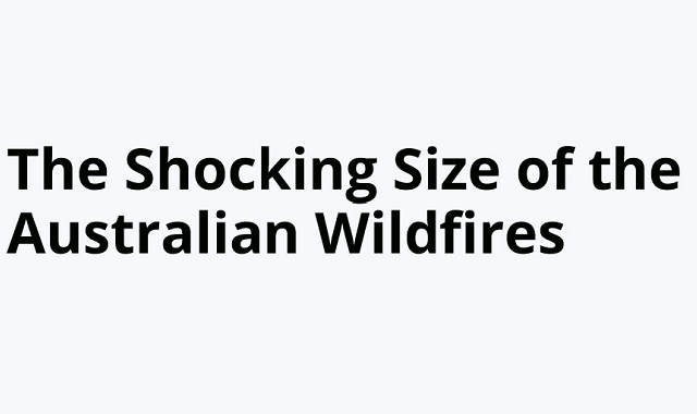 Anfrightening Look at Bushfires-around the World #Infographic