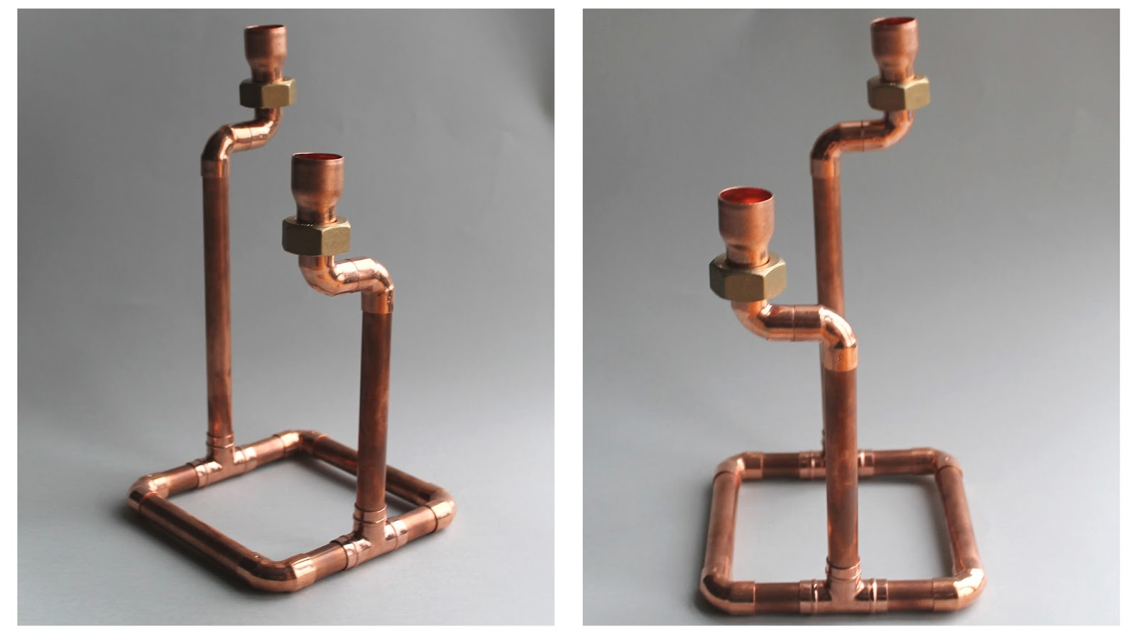 Live it . Love it . Make it.: Make it: Copper Candle Holder