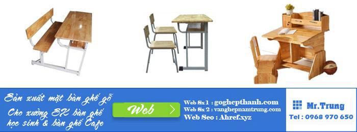 công ty sản xuất bàn ghế học sinh