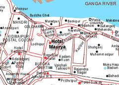 Patna In India Map.India In Maps Patna City Map