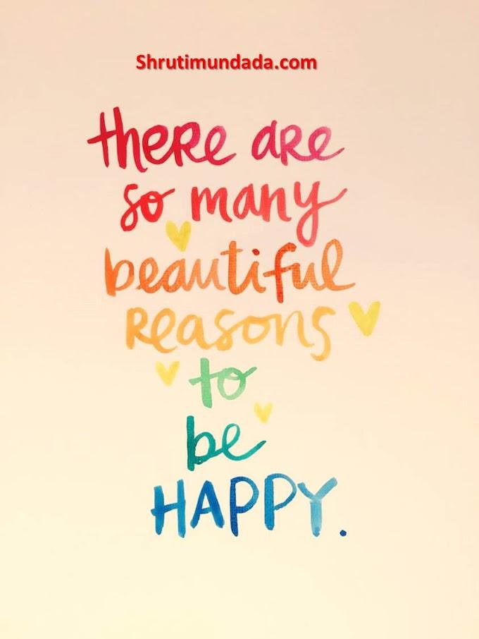 Happiness is a function of accepting what is - खुशी जो है उसे स्वीकार करने का एक कार्य है।
