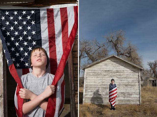 flag portraits