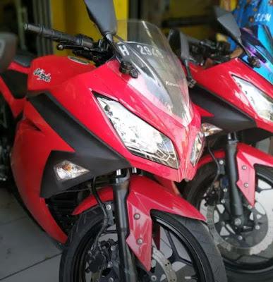 jual motor bekas kawasaki ninja 250 fi semarang by inukotovlog