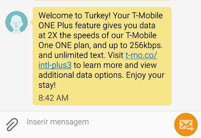 Chip de celular para usar internet na Turquia