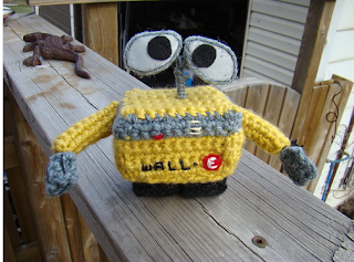 free Wall-e Crochet pattern