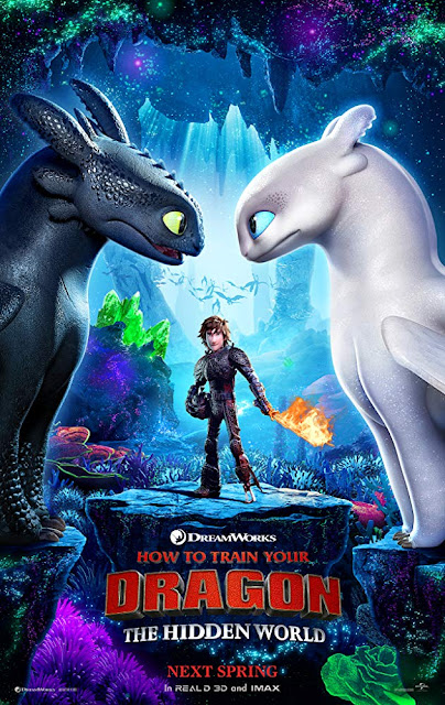How to Train Your Dragon: The Hidden World Dreamworks 2019 movie poster