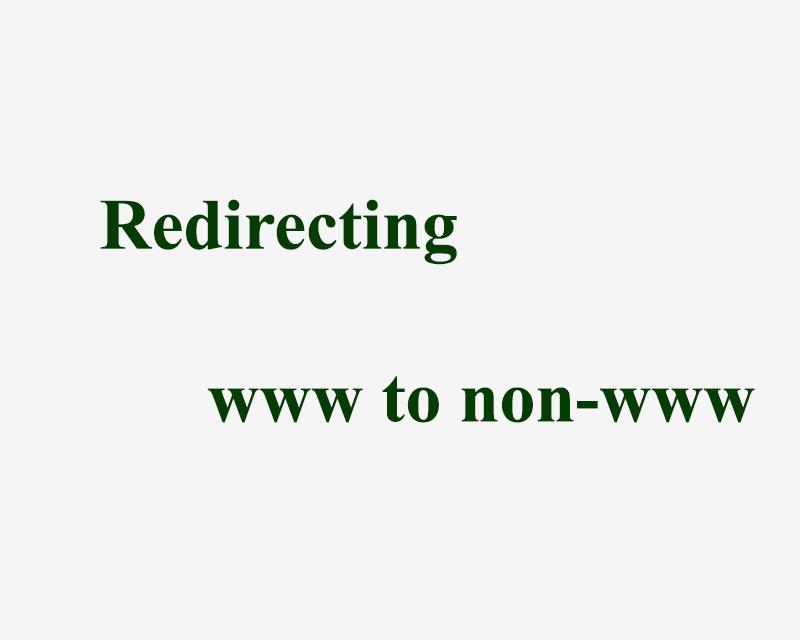 Chuyển hướng tên miền Redirecting www to non-www sử dụng .htaccess cho code nhạc TGT
