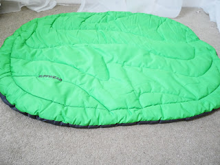Highland bed form ruffwear green bed