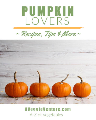 Crazy for pumpkin? Check this collection of seasonal Pumpkin Recipes, ♥ AVeggieVenture.com, savory to sweet, salads to sides, soups to supper, simple to special. Many Weight Watchers, vegan, gluten-free, low-carb, paleo, whole30 recipes.