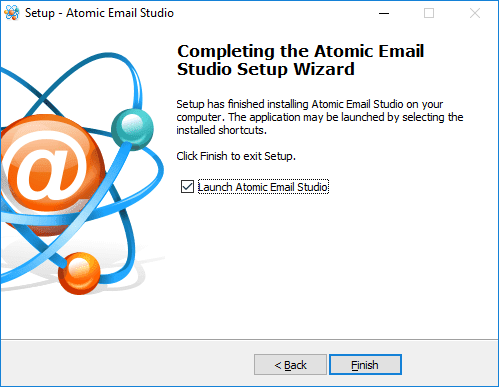 Atomic Email Studio Full Setup