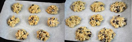 easy oats cookies