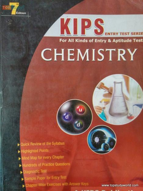 Chemistry Entry Test Series Book Free Download