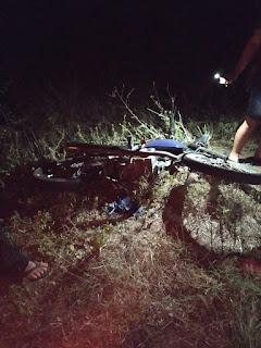 Agricultor morre, na BR que dá acesso a Sossego, após carro colidir com moto