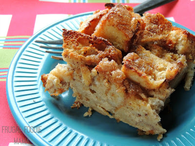 This simple & delicious Cinnamon-Sugar English Muffin Casserole can be made the night before making it the perfect breakfast for your holiday morning.