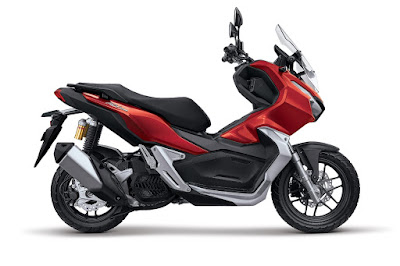 Honda ADV150 Tough Red