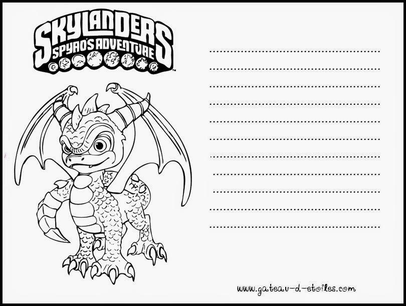 Mini Kit de Skylanders para Imprimir Gratis. | Ideas y material ...
