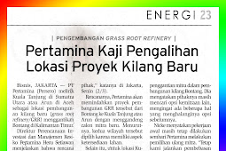 Pertamina Assesses Transfer of New Refinery Project Location